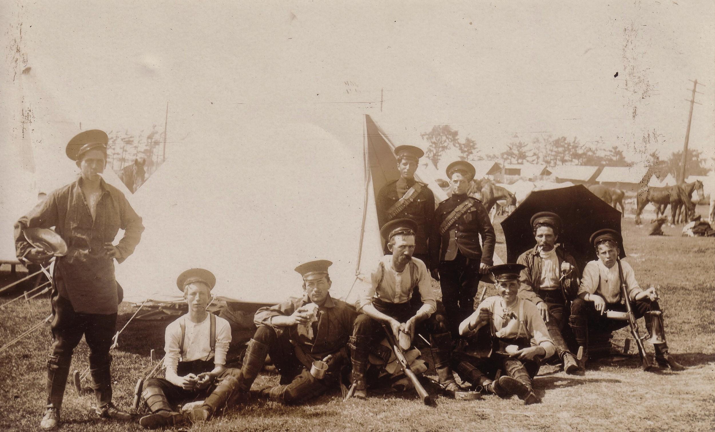 WW1 Training Camp