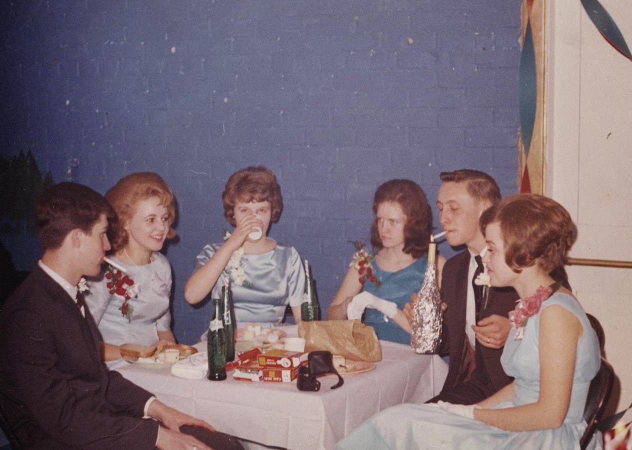 Pat Shannon, Mary Provost, Cathie Jones, Maxine MacDonald, Gerald Campion, Sally Bleecker