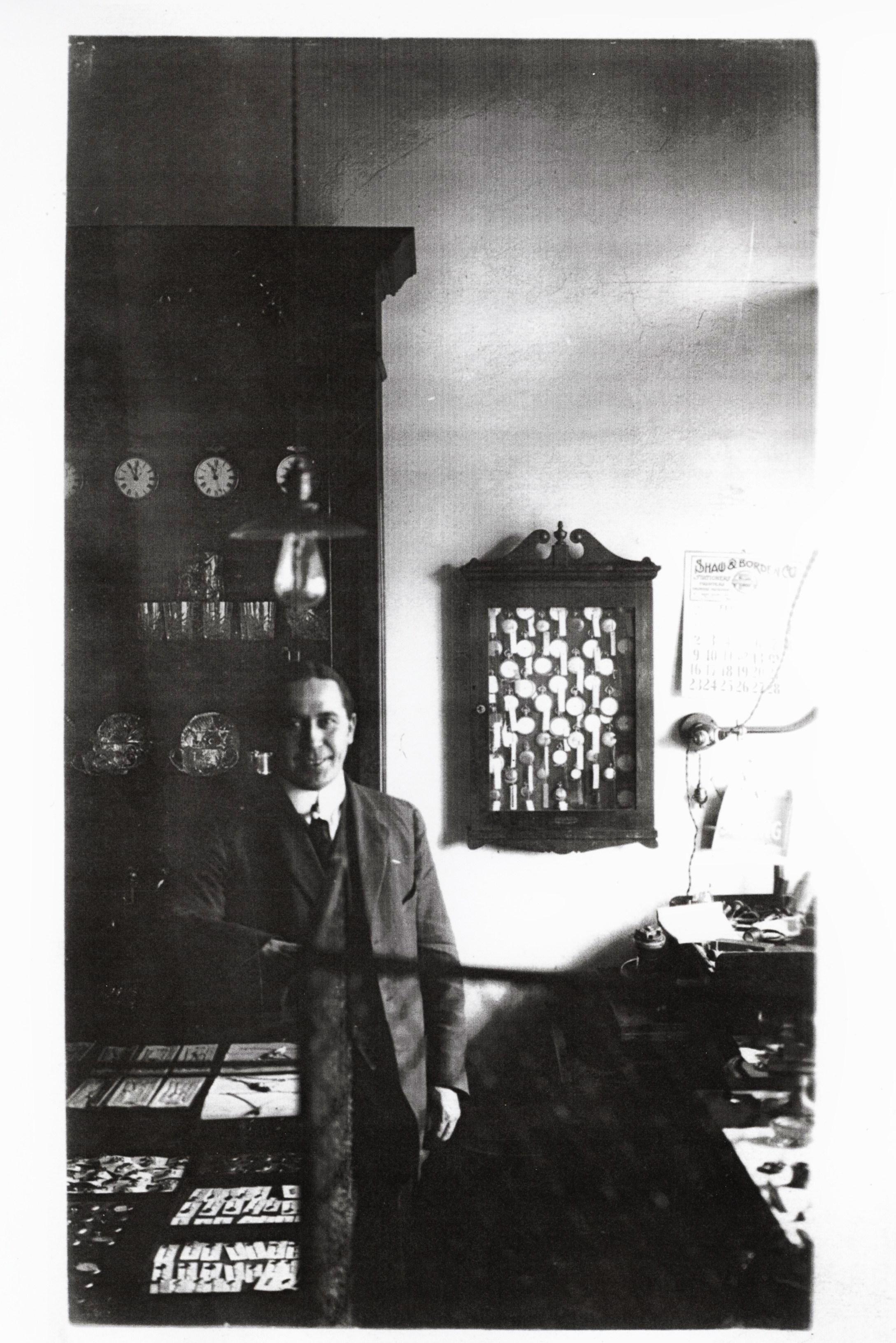 Bert Bleecker, brother of Charles, jeweller in Marmora