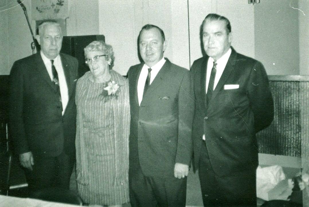 Ralph Neal, Mariam Savage, Bob Maynes and William Shannon