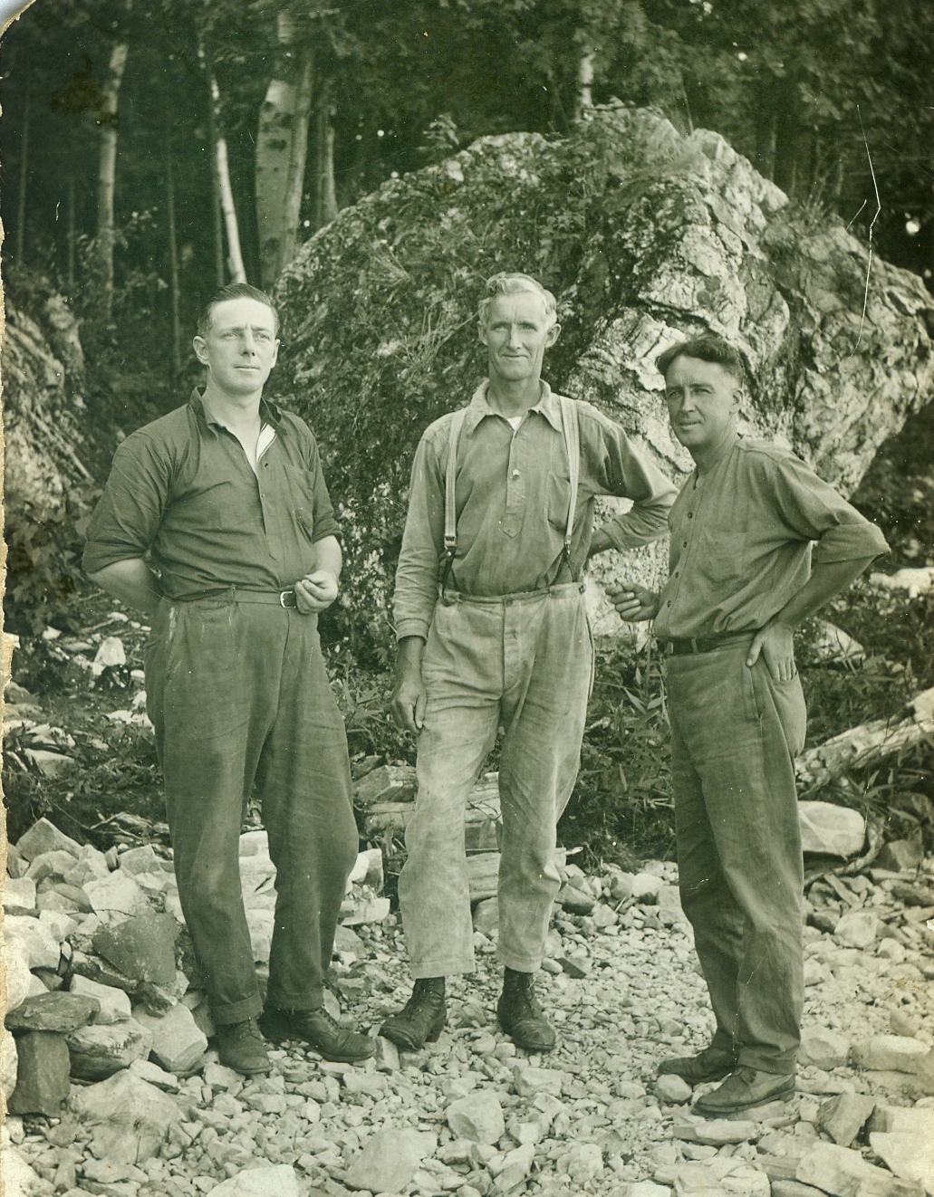 "1926 Percy Gray, Sandford Lawrence, Alphonso ""Phony"" Shannon"