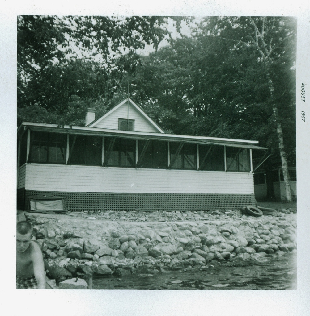 1957 Crowe Lake, Marble Point Bateman Cottage