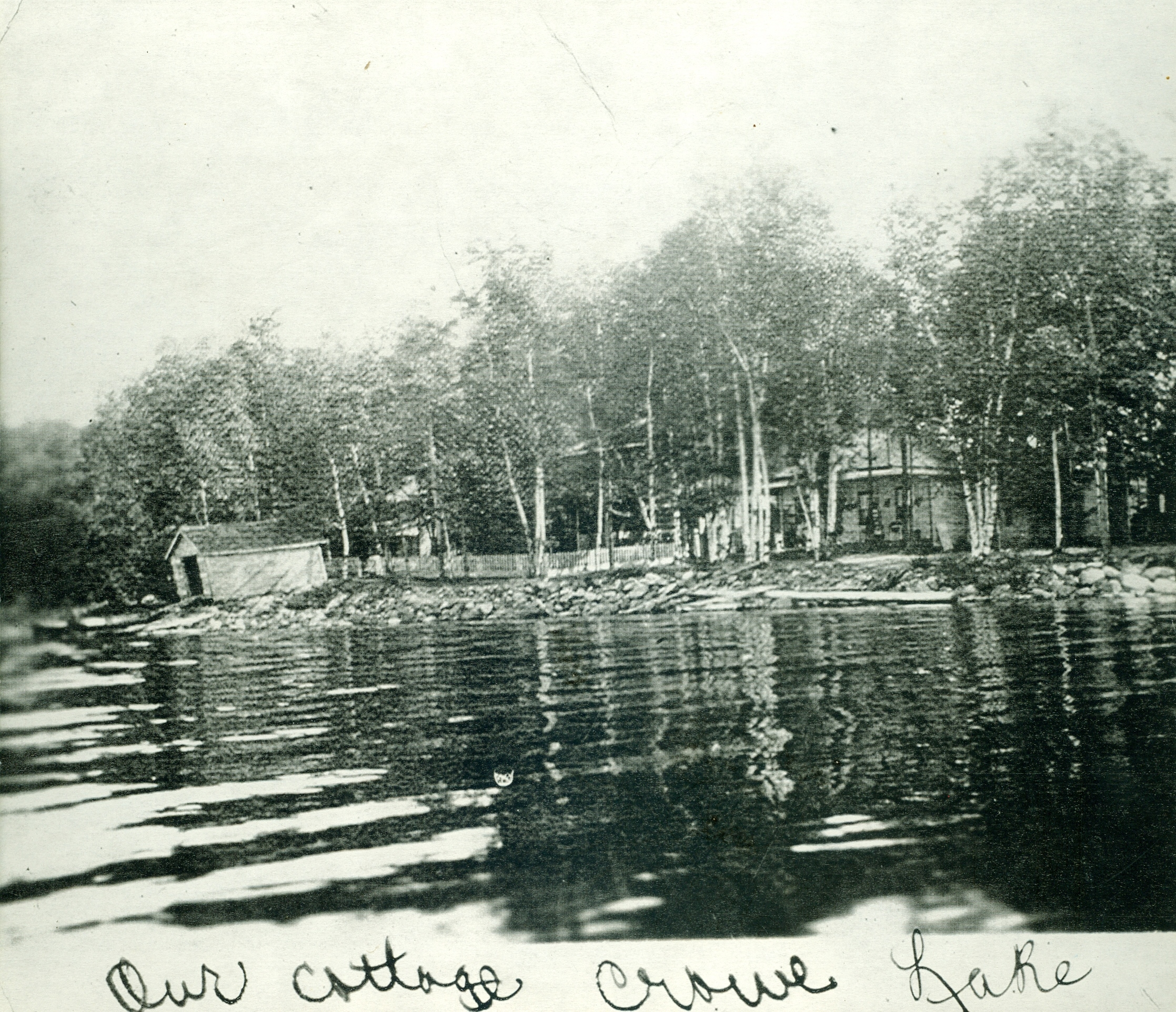 Crowe Lake, Marble Point Rd. Cottage of Joe & Rita Murray