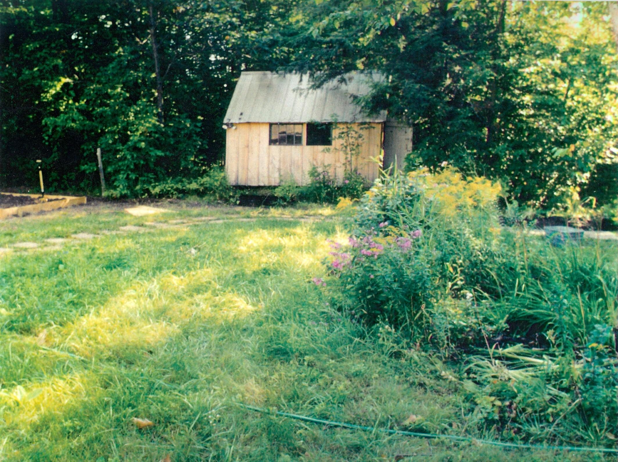 Parker sleeping cabin, possibly oldest building on lake (2)