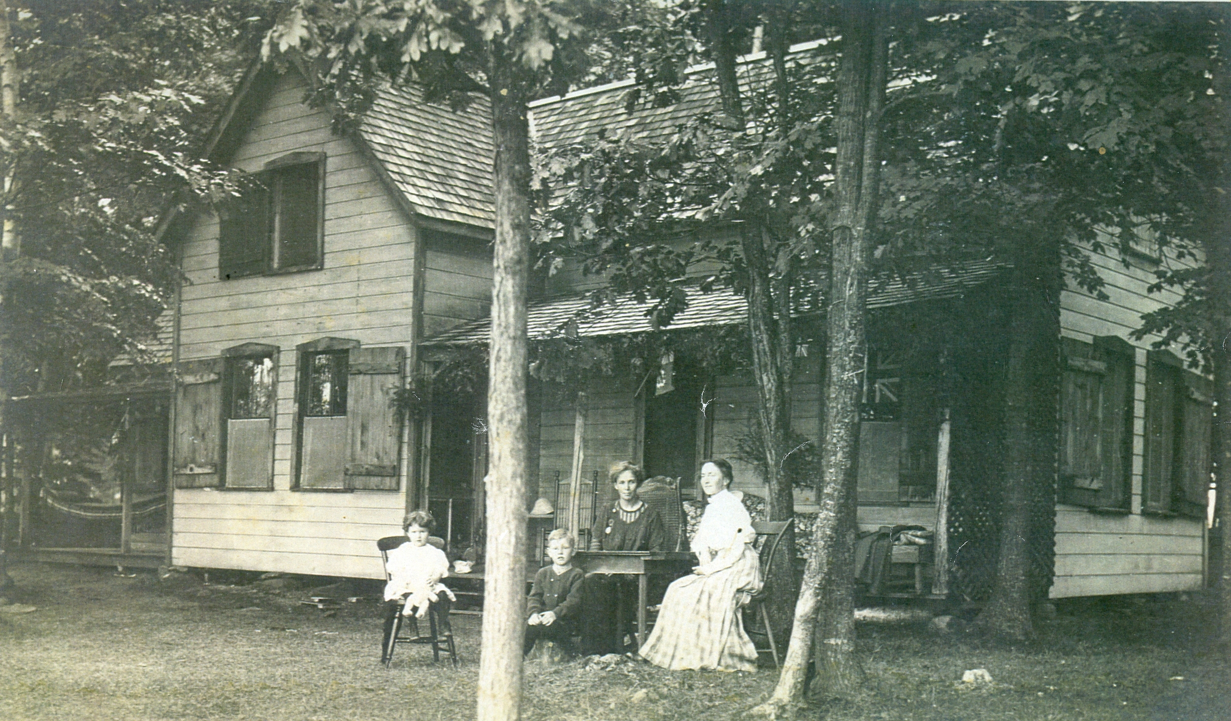 Parker-Ross Cottage torn down in 1960