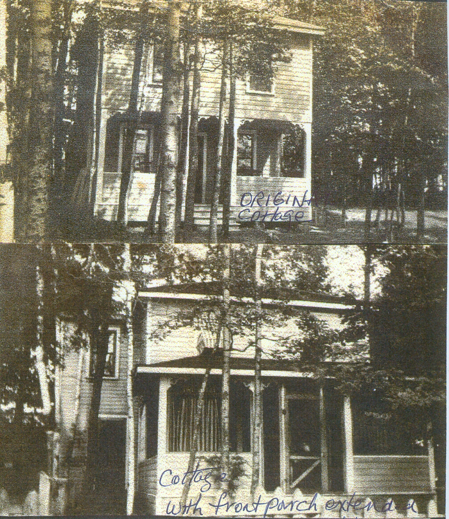 Pink Palace Morris Cottage, Original building