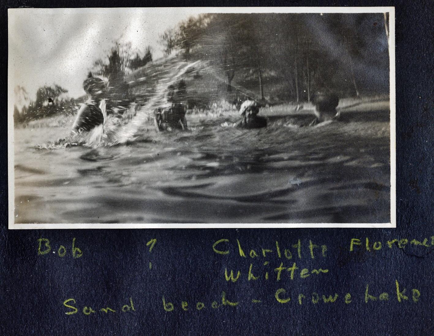 Crowe Lake, Florence Whitten