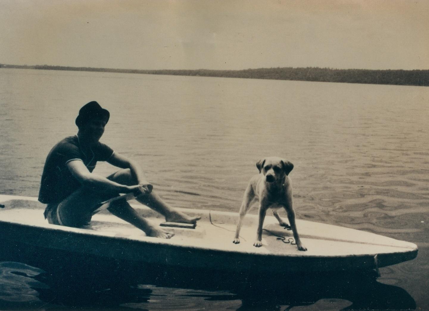 Vaughan Glover Jr. & Pogo, Crowe Lake, Marmora