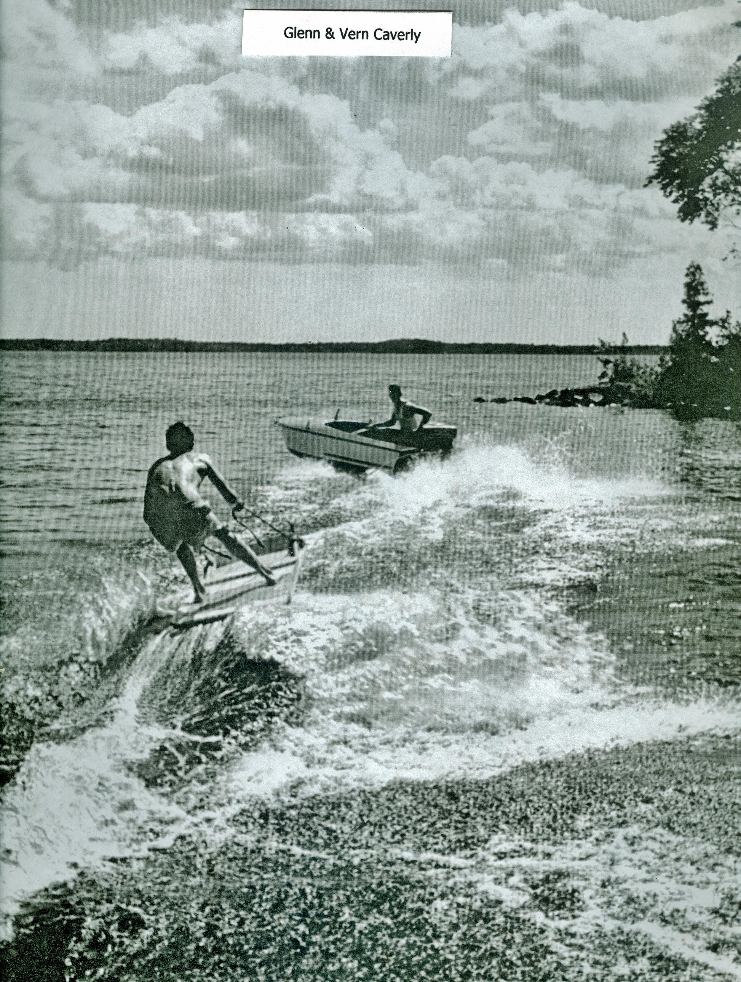 Vern Caverly & Glenn Caverly,  Crowe Lake,  Marmora.jpg
