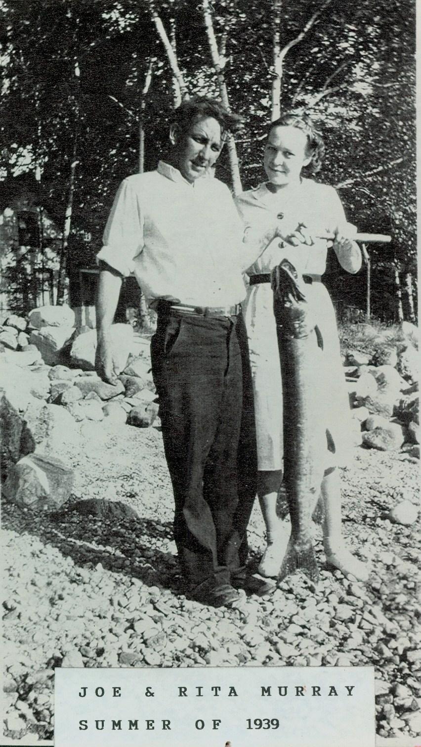 Joe & Rita Murray 1939