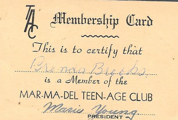 Marmora-Madoc- Deloro Teenage Club