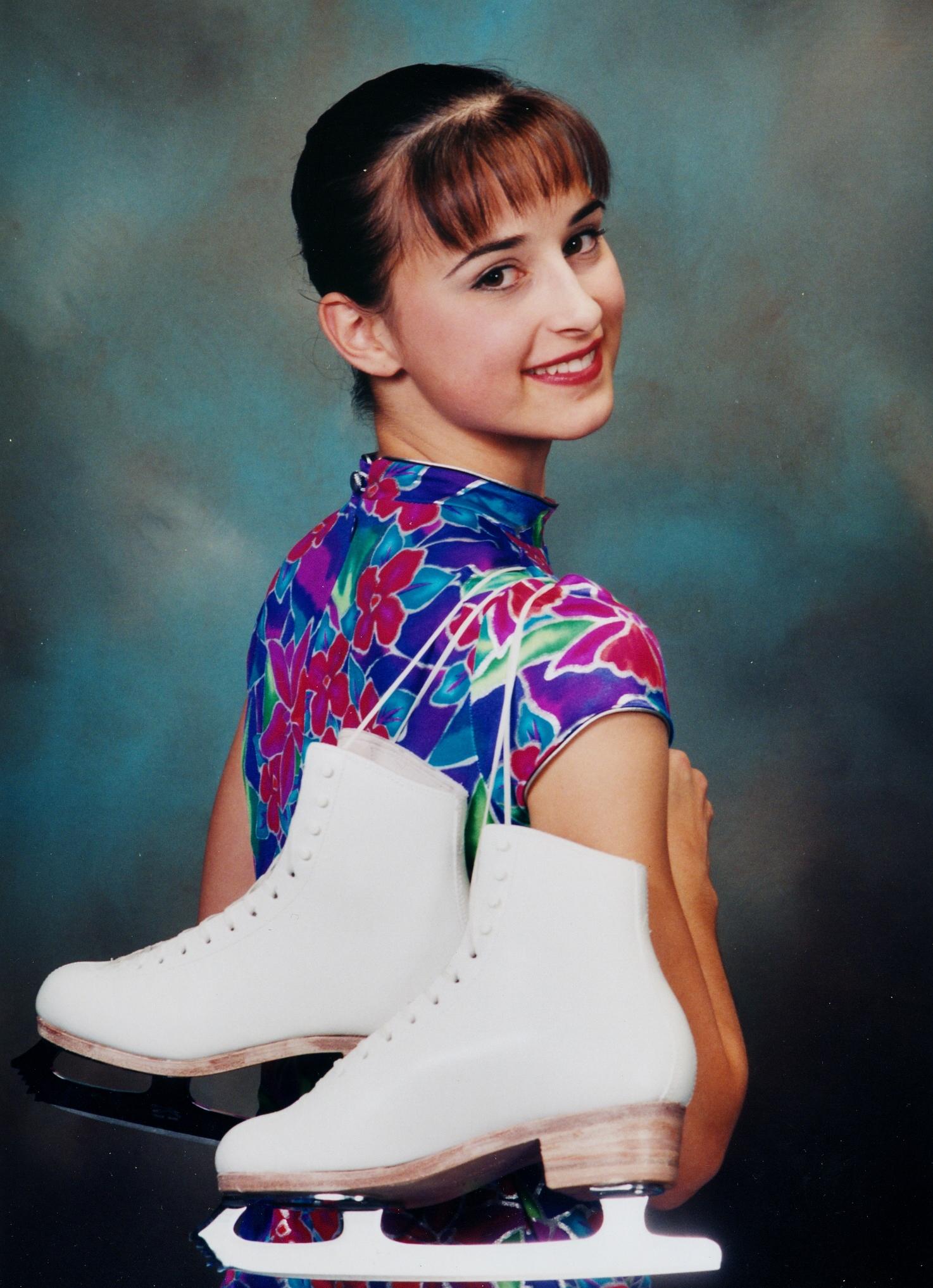 2000 Ashley Tinney, Gold Dance, Freeskate & skills