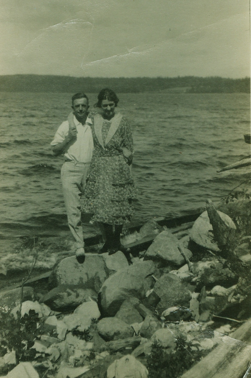 Ed and Bea Gladney,  Crowe Lake, Marmora