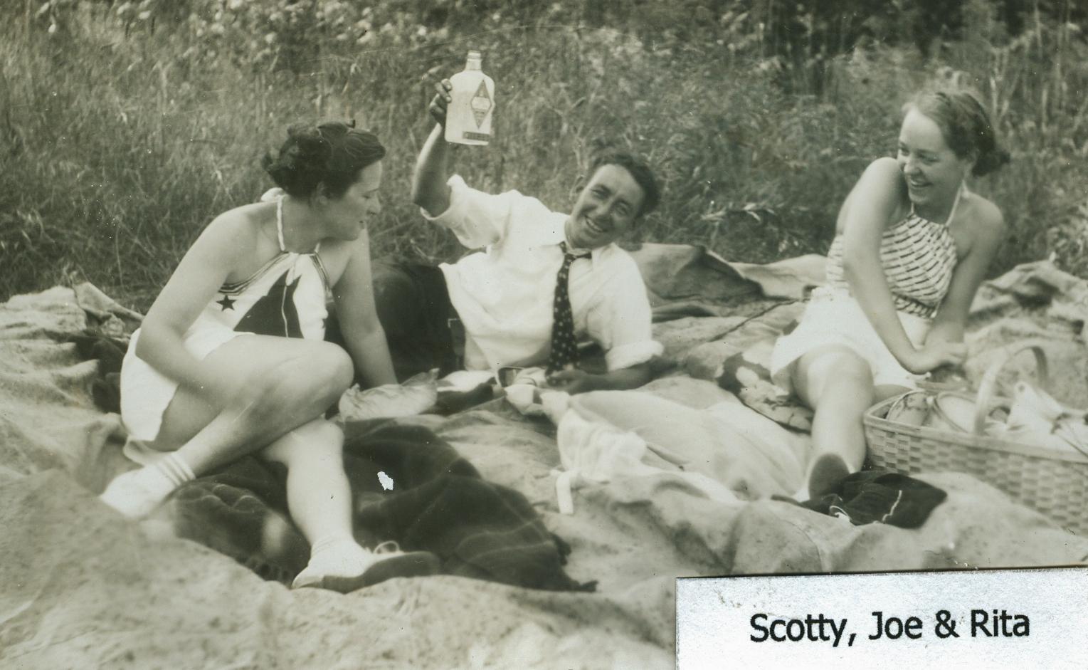 Scotty, Joe & Rita, Crowe Lake, Marmora