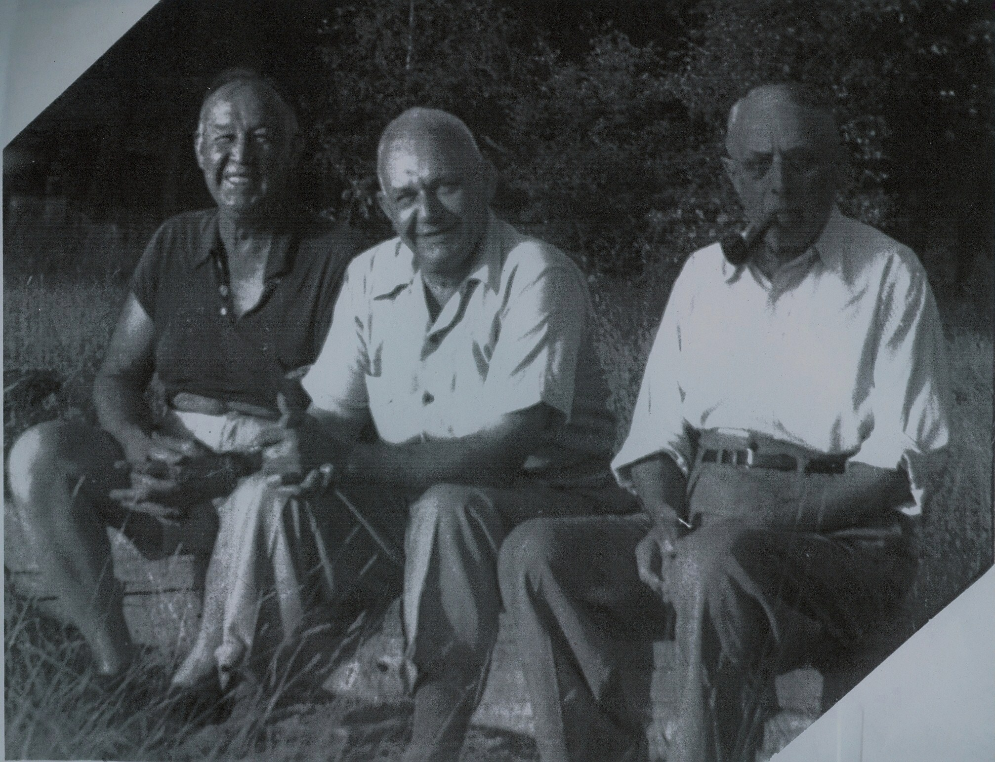 Tom Reid, Clarence Gladney, Jim Hodge 1938