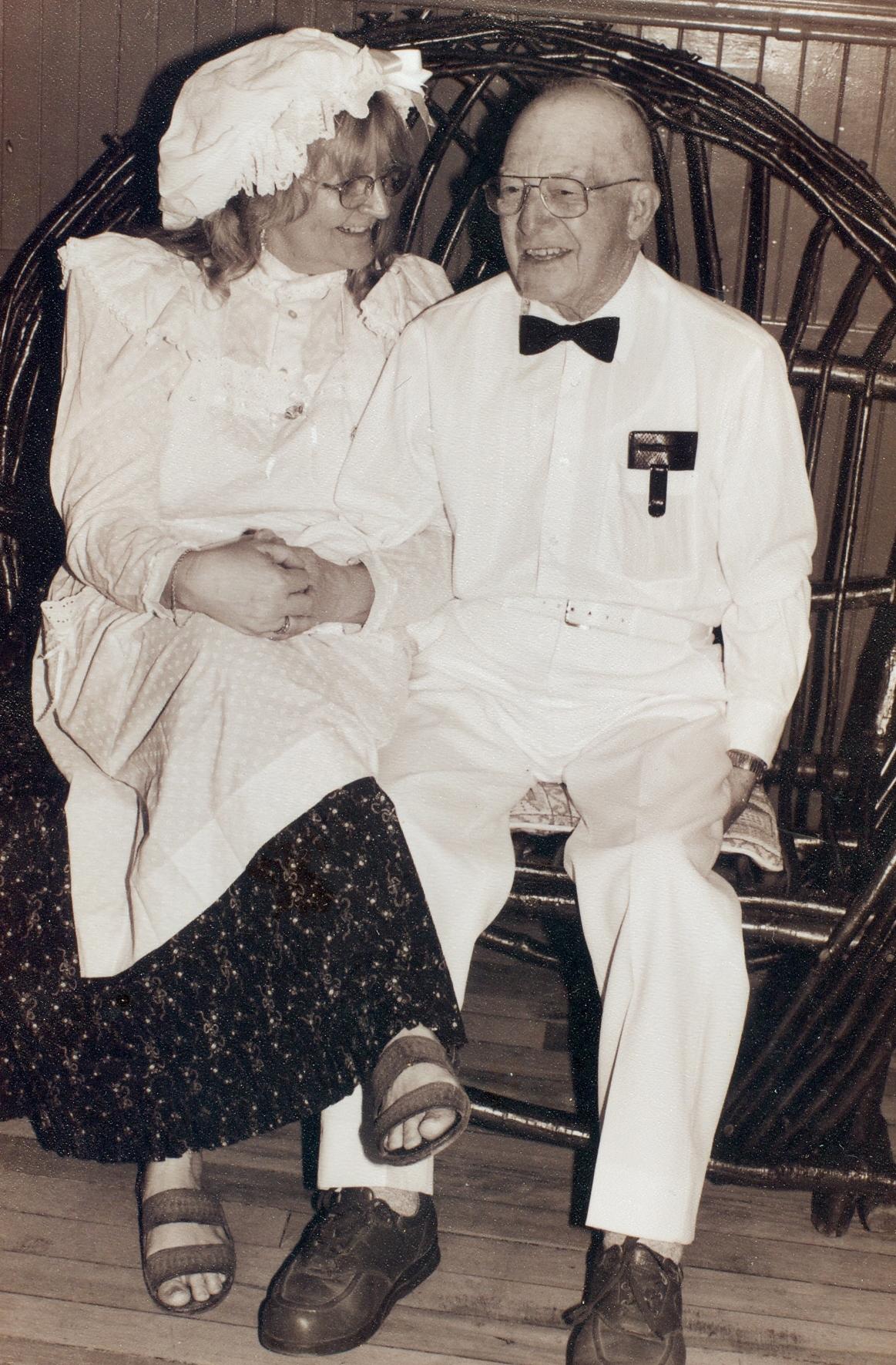 Linda Brachen and Micky Maloney