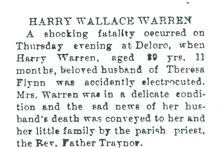 Harry Wallace 1924