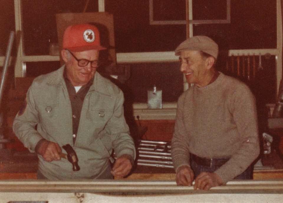Everett Barrons and Ronald Catling