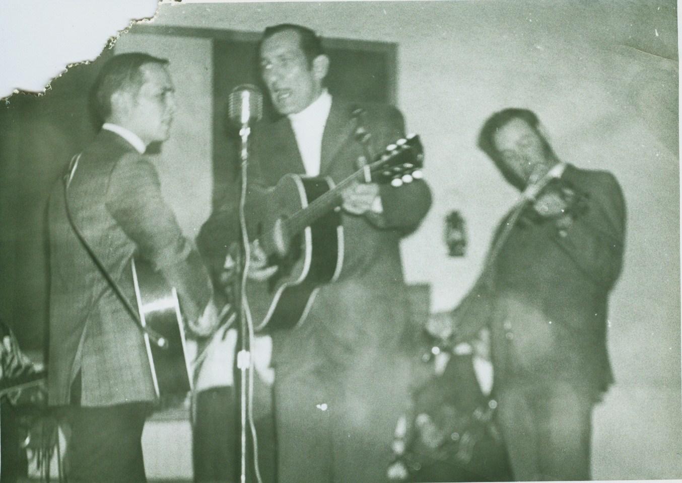 Donnie Andrews, Boyd Warren, and Jack Golden