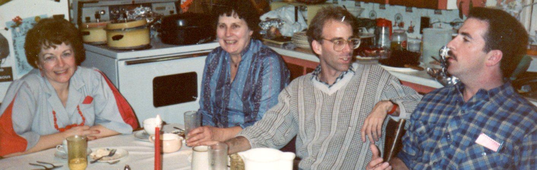 Wilma Brady, Anna Kreidemann, Bill Freeman, John?