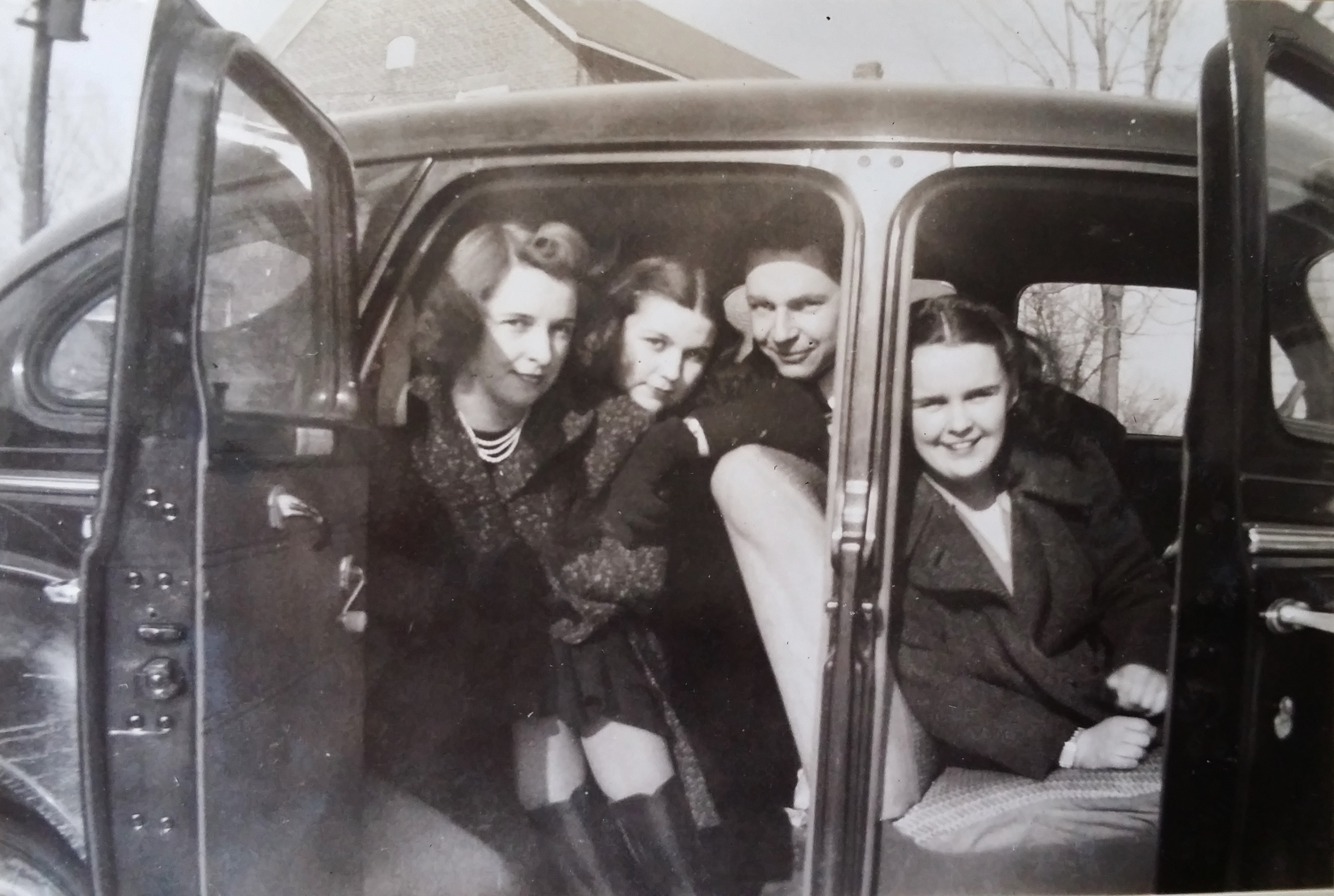 Marg Shannon Monk, Theresa Shannon, Anne Paquet, Jack Shannon