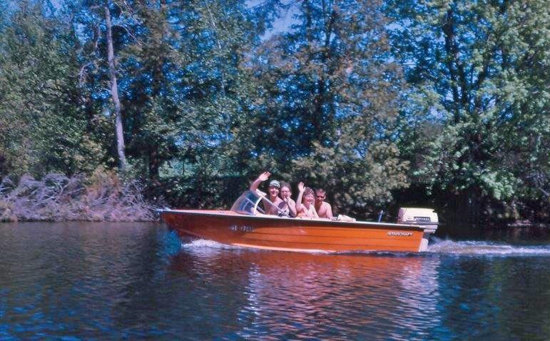 Vaughan Glover,  Cheryle Leonard,  Linda Glover & Brian Bertrand