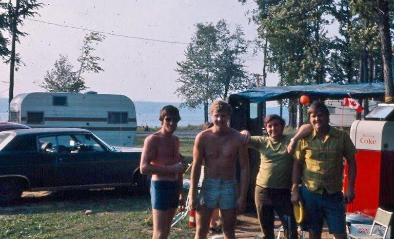 Rob Robson, Vaughan Glover, Tom O'Neill, Bob McCoy