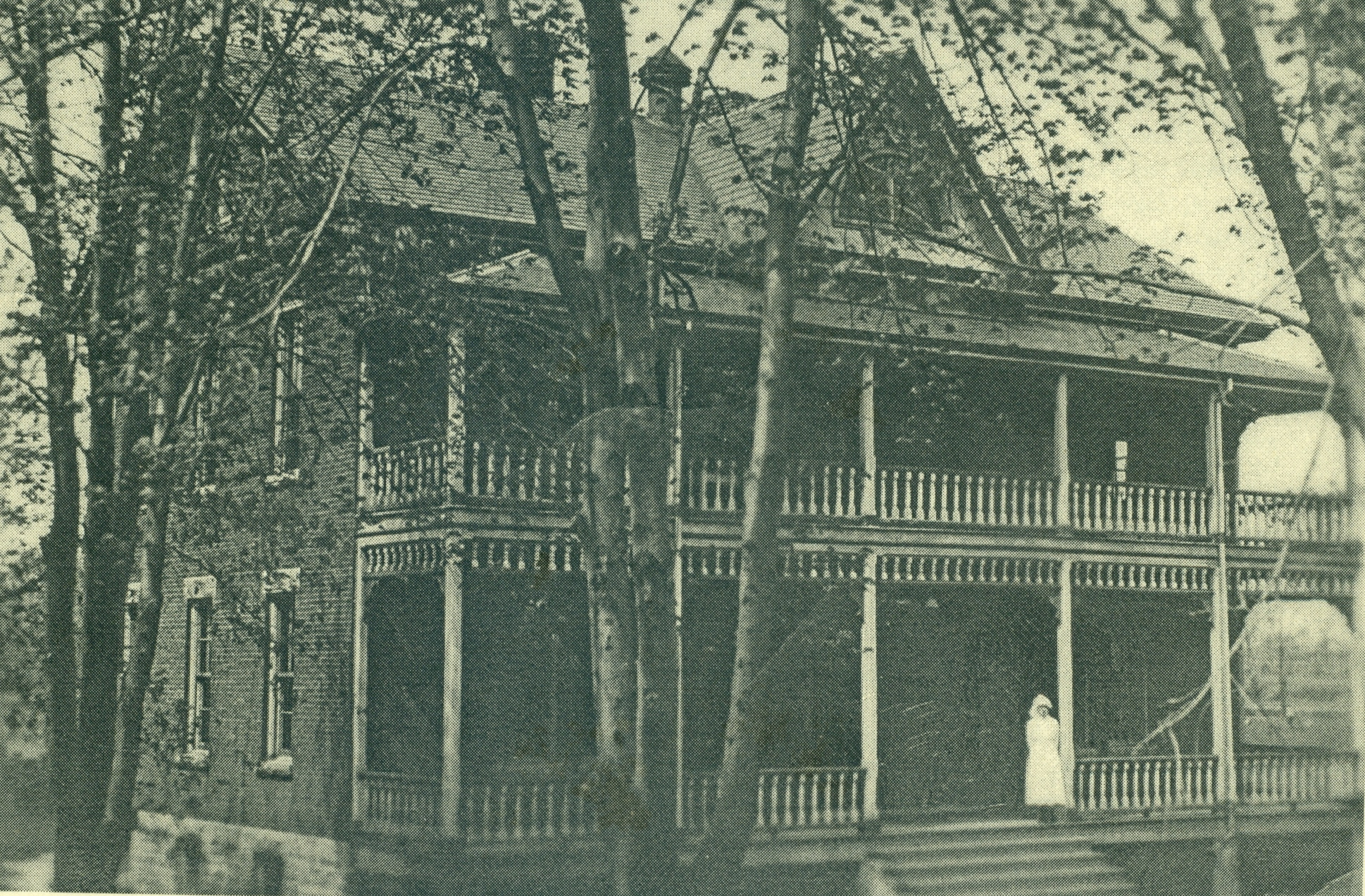Residence at Ont. Sch for Deaf, with Bessie Pearce