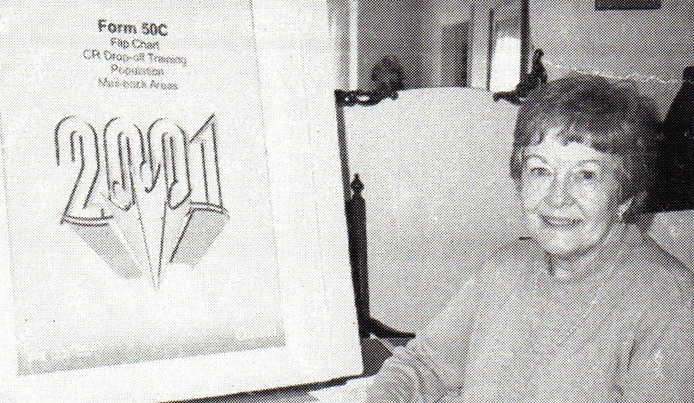 Wilma McKinnon Bush - Census Officer 2001