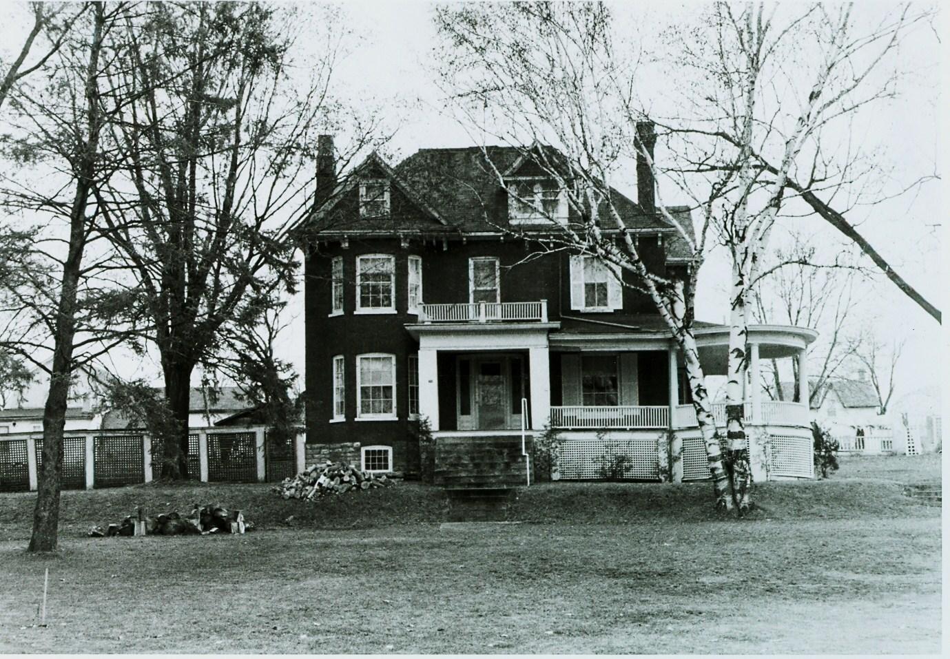 Village of Marmora,  Bursthall Street,  home of Frank Pearce,  c. 1900.jpg
