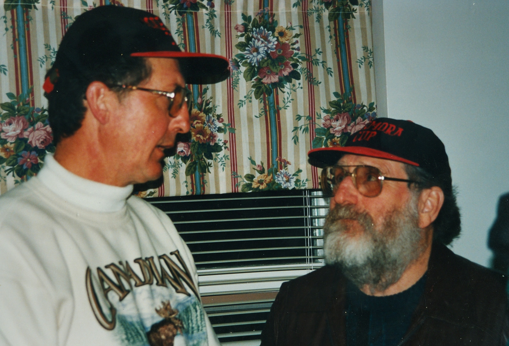Bob Drummond and Norm Bradley