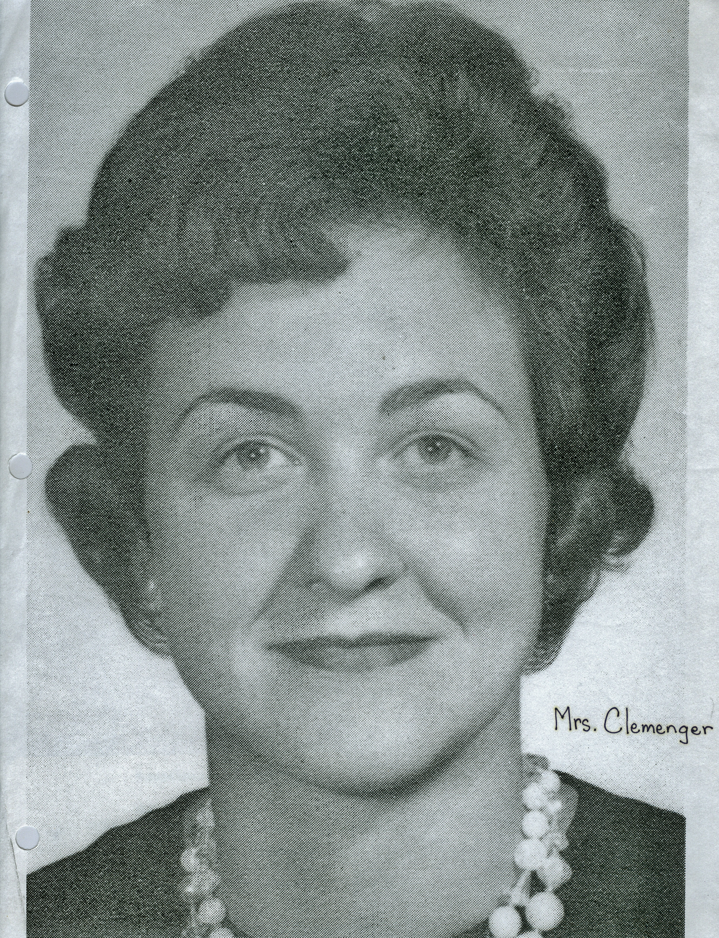 Mary Wise Clemenger