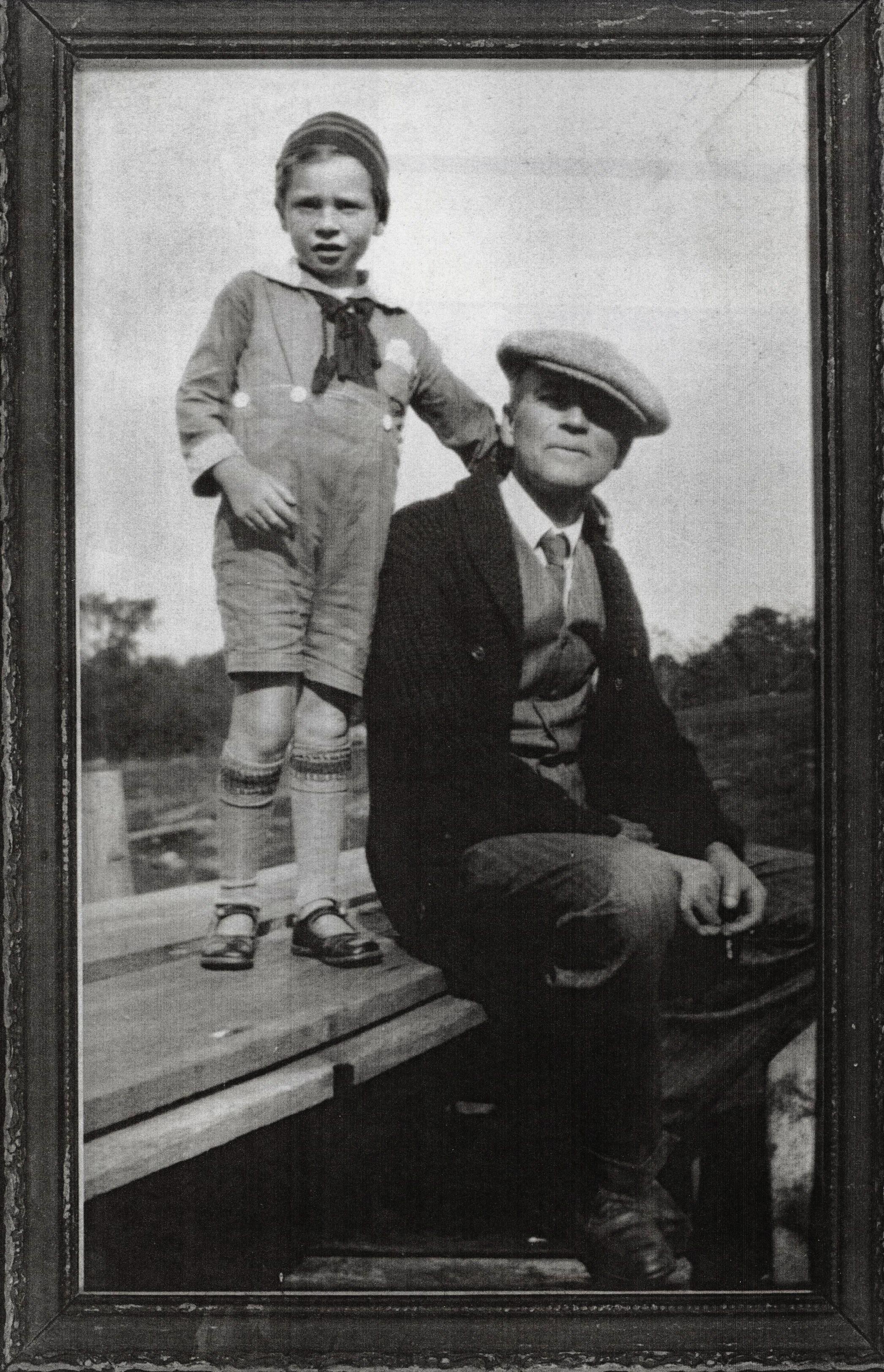 Jim Marett & father F.N. Marett 1929