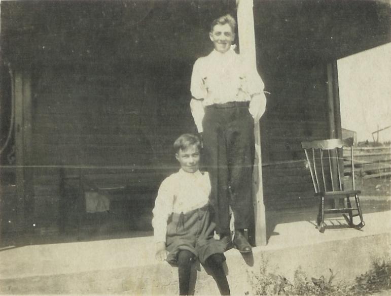 1919 John and Harry VanVolkenburg