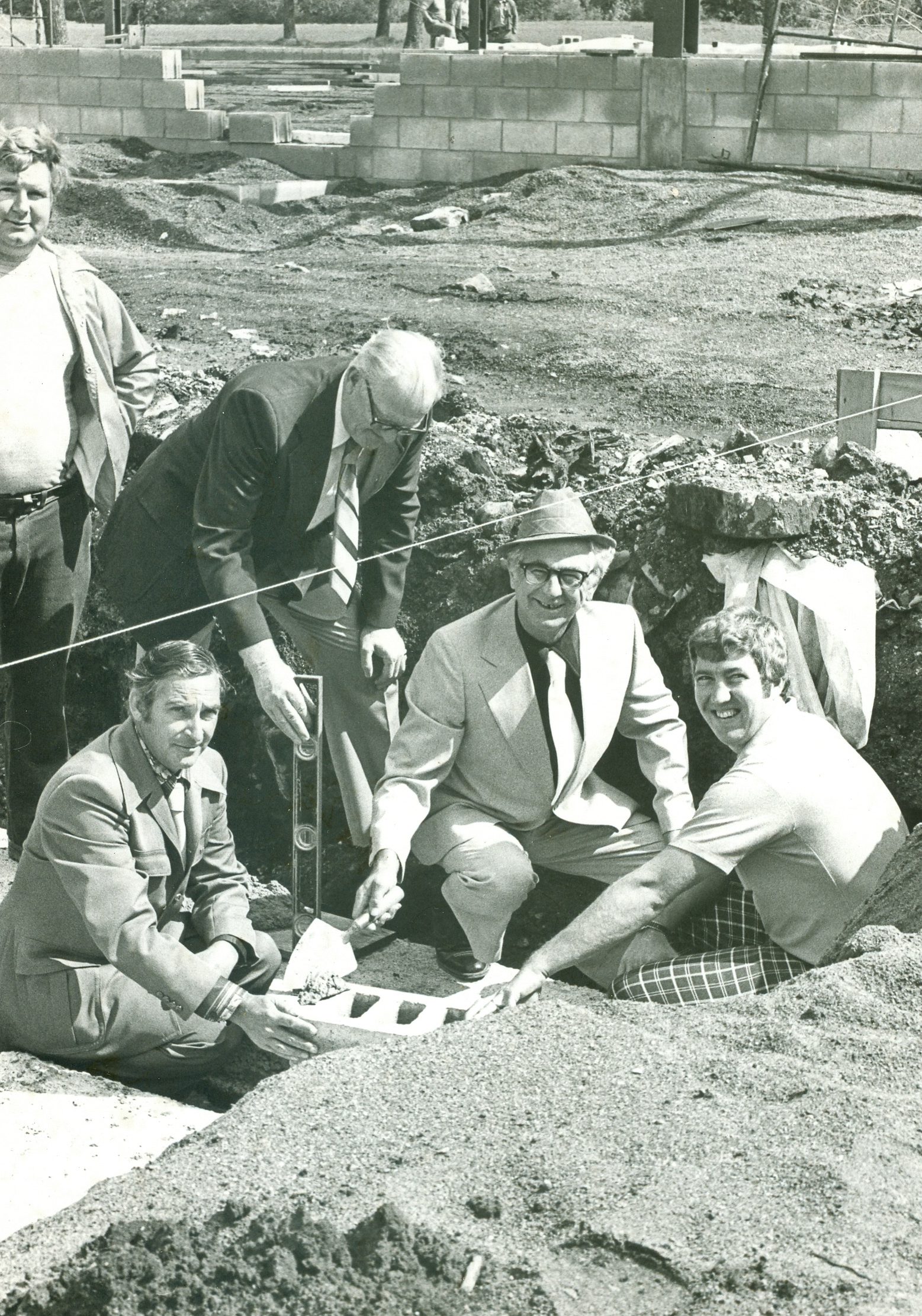 Graham Bell, Grant Airhart, Clete Green