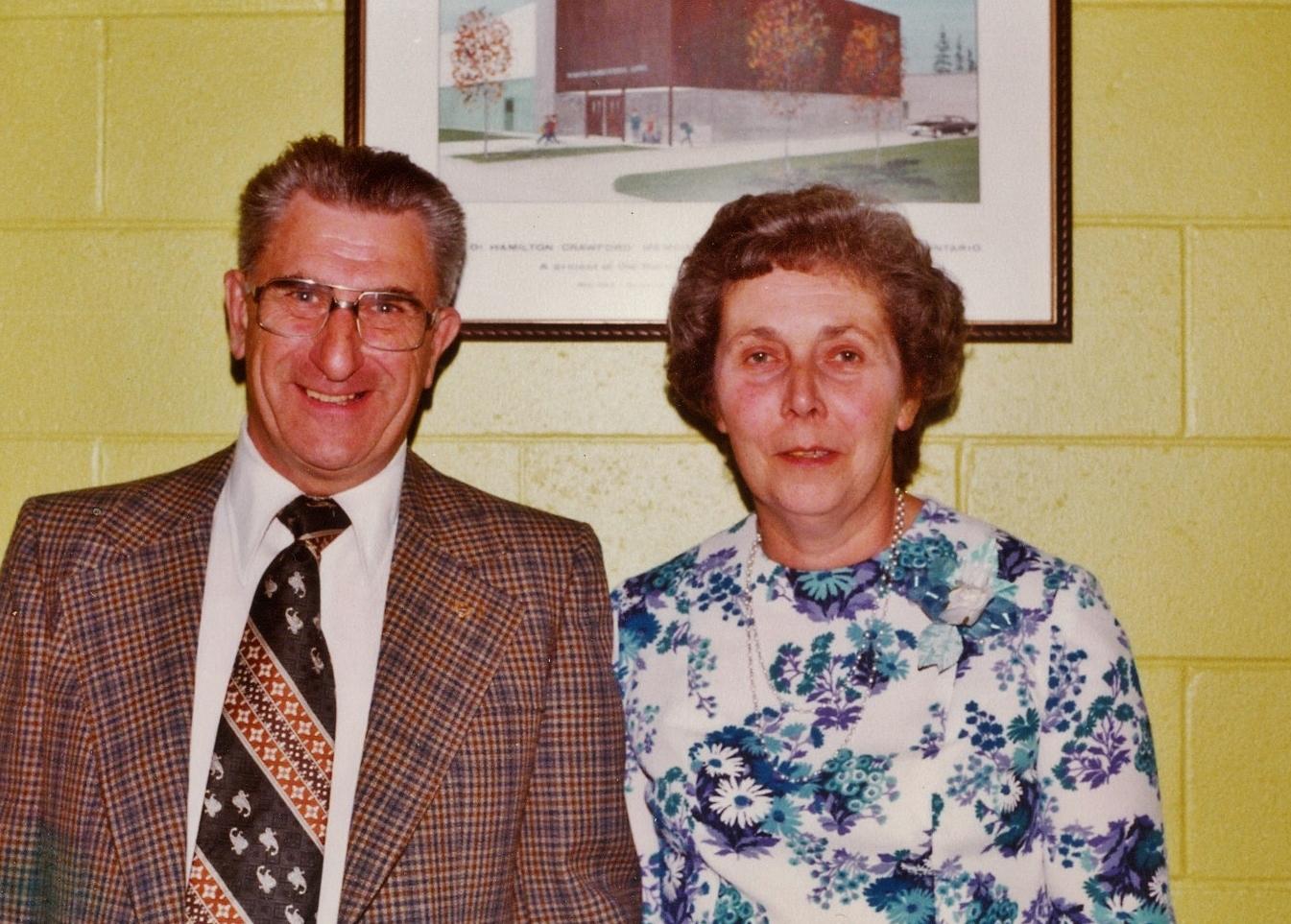 Gordon and Stella Bennett