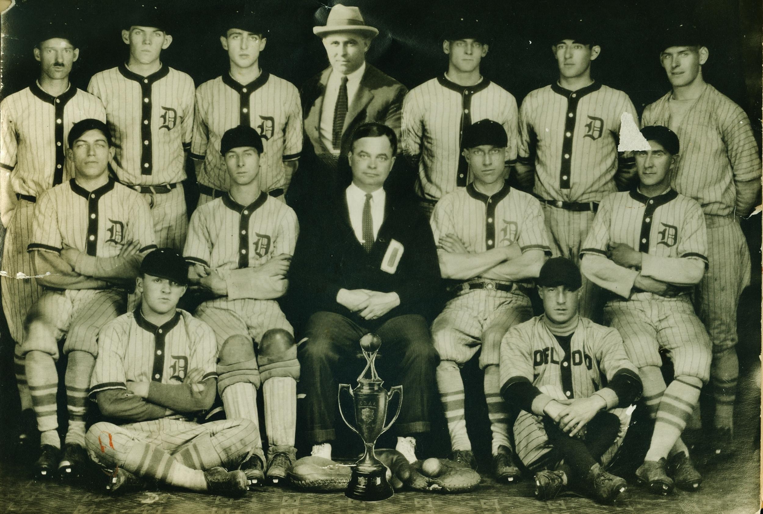 1926 Deloro Baseball Club Intermediate Champions O.B.A.A