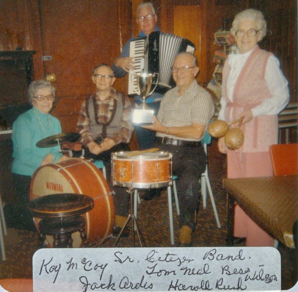 Kay McCoy, Tom Neal, Jack Ardis, Harold Rush, Beth Wilson...Marmora Senior Club