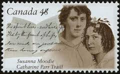 2003 commemmorative stamp with sisters Catherine Parr Traill and Susanna Moodie