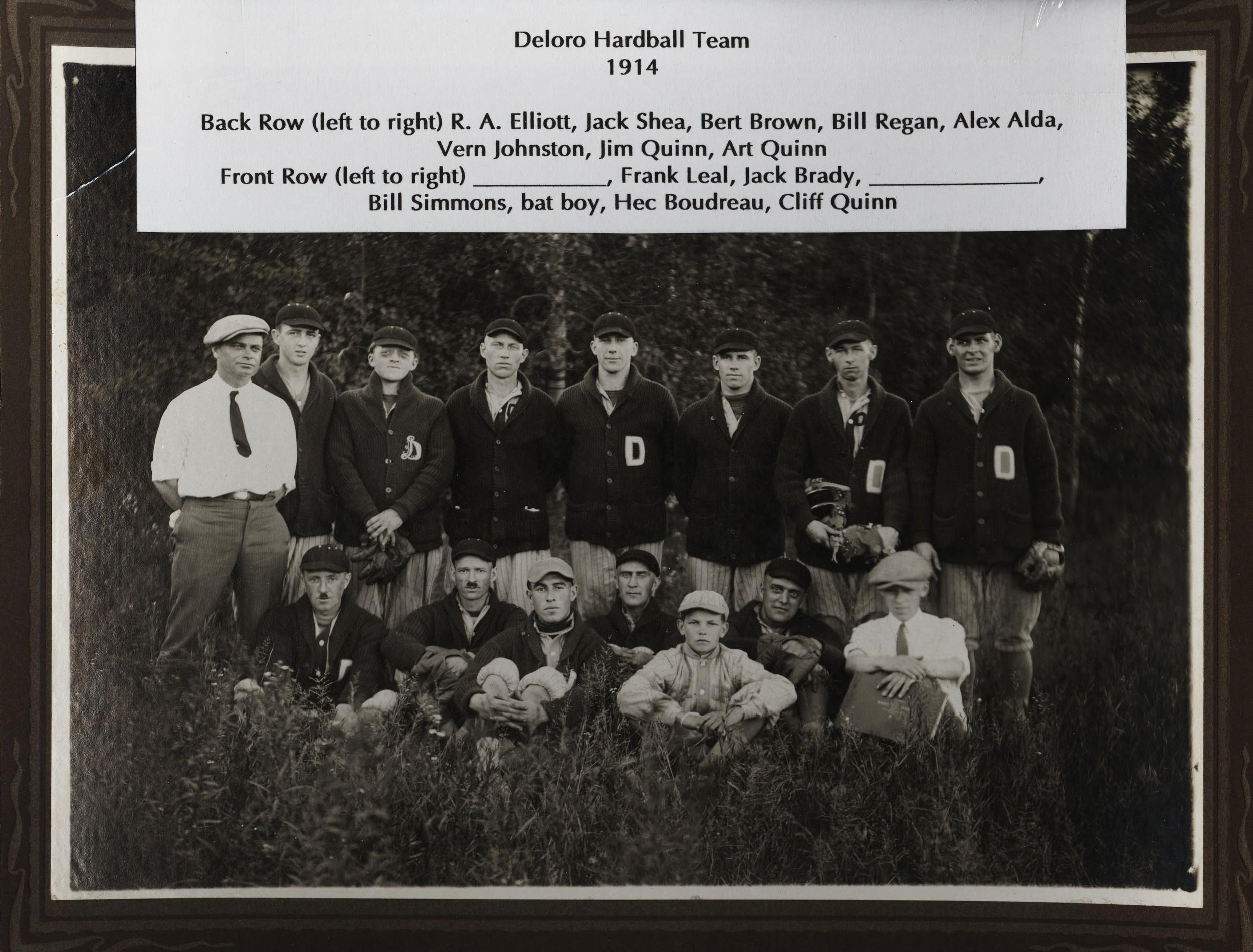 Deloro Hardball Team1914