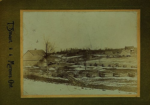 Farm in Vansickle, photographed by Thomas Stewart