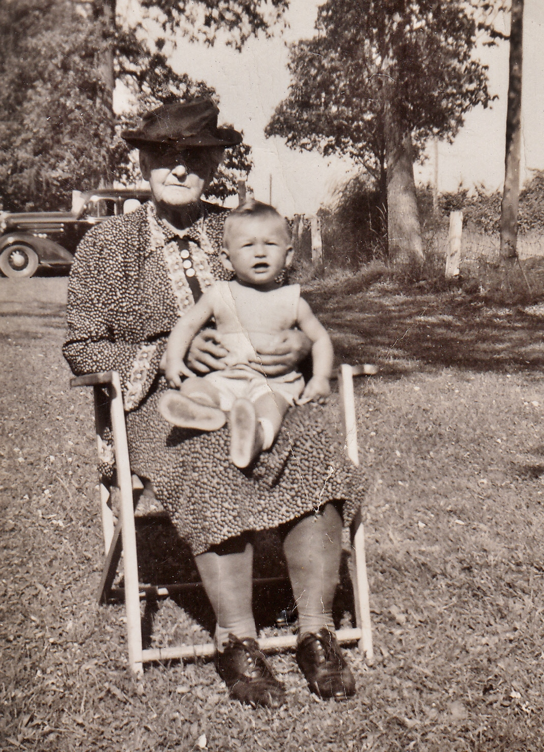 Grandma Lough with Lois Lough daughter of Clinton