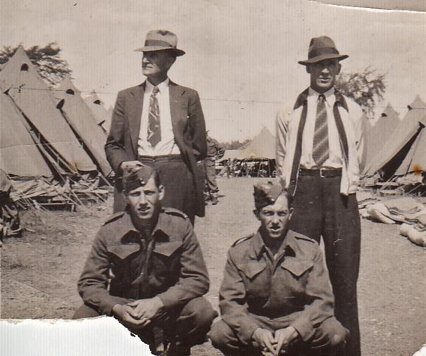 George Phillips, Harold Nayler, Wm Nayler, Gordon Phillips