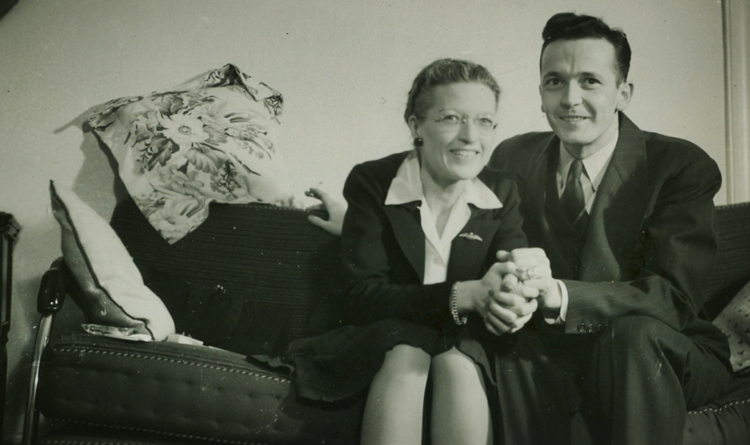 Jean Nickle, sister of Clint, with husband, Roy Smith