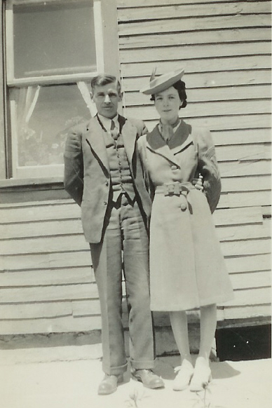 1939, John VanVolkenburg and Doris Hipson