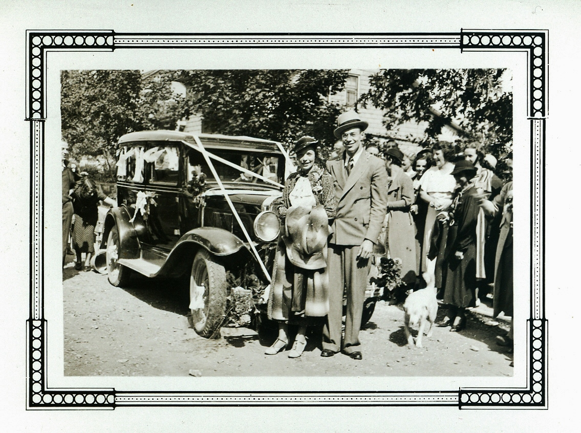 Madge Gaffney and Jack McCrodan's wedding