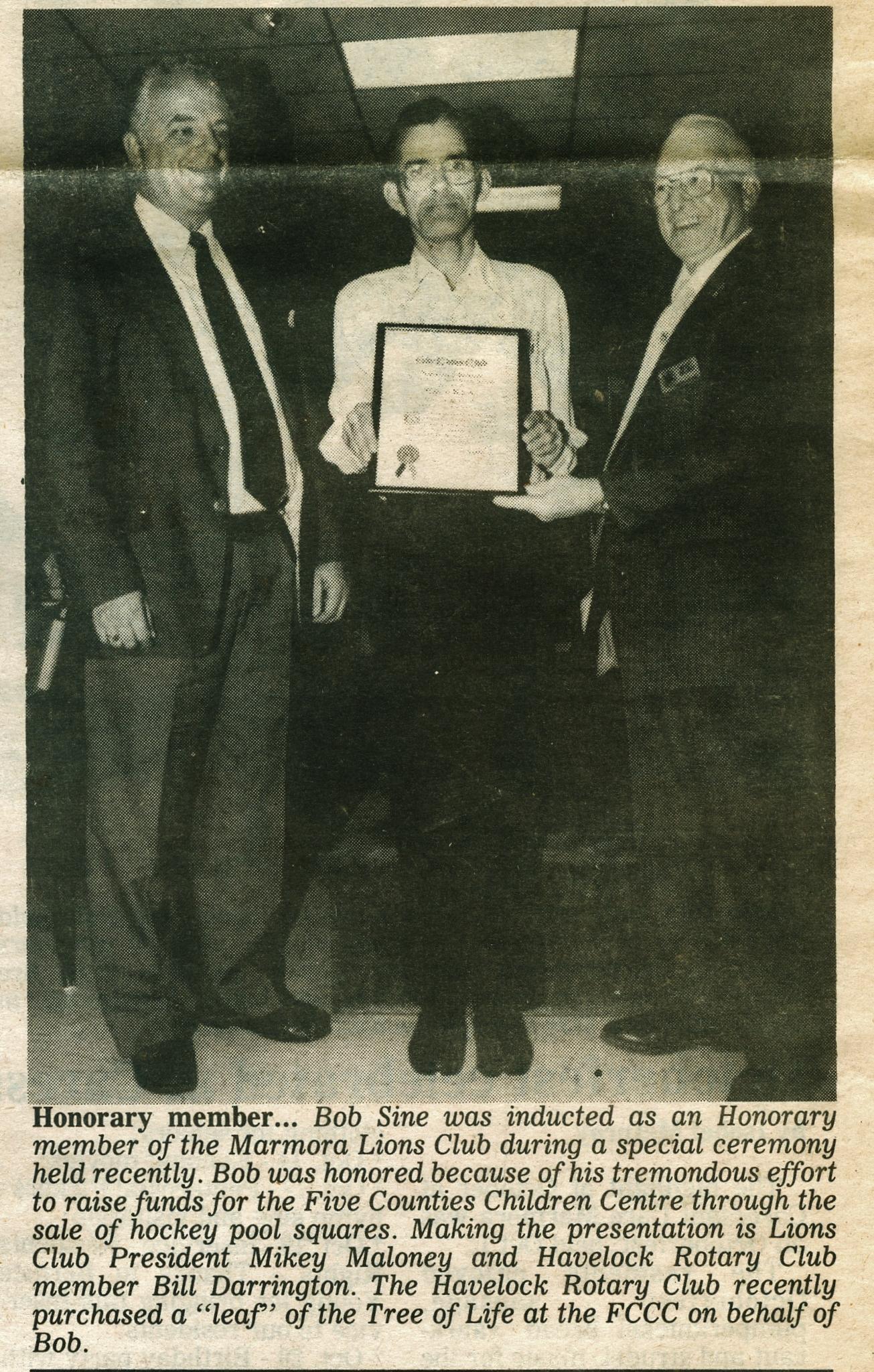 Bob Sine,  Lions,Nov 1993.jpg