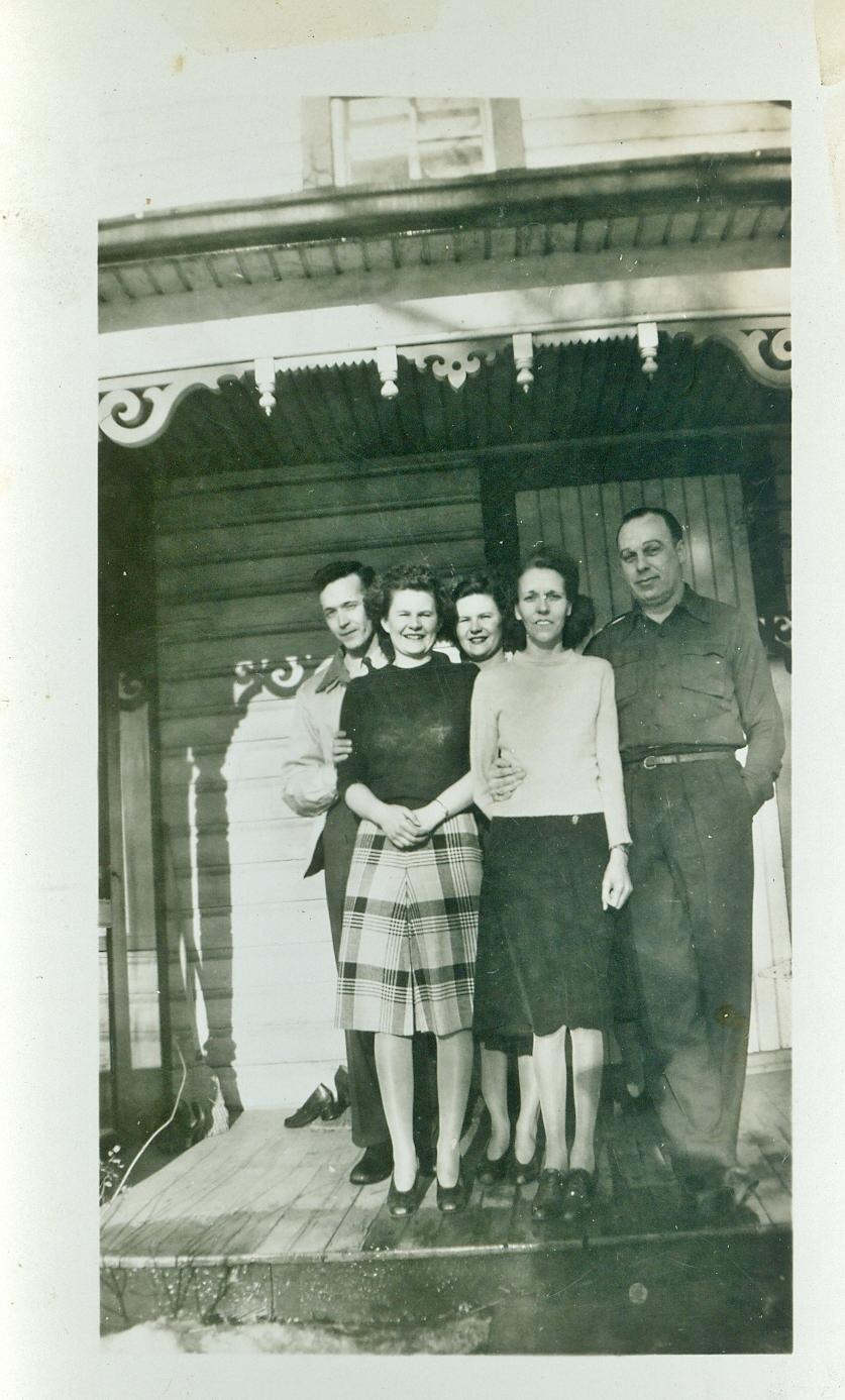 Roy Smith, Lib Gladney, Jean Gladney, Helen Gaffney and Sally Jones