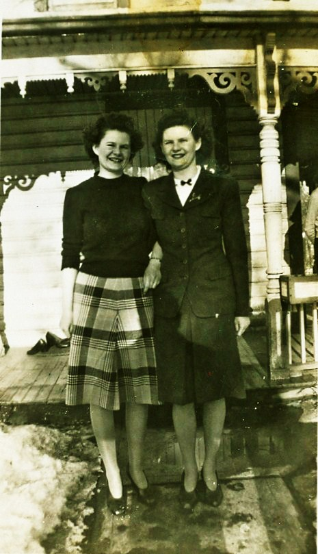 Jean and Elizabeth Gladney