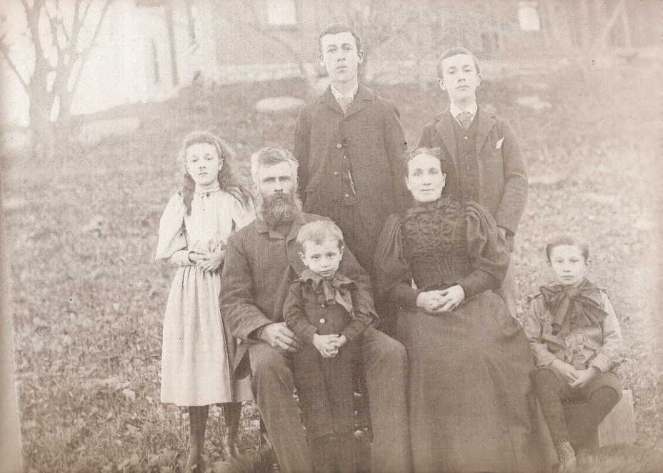 RALPH LAYCOCK AND WIFE, MARY  GRAY, SONS,   THOMAS, JOHN, WILLIAM AND SAMUEL, DAUGHTER, JENNIE AND ?